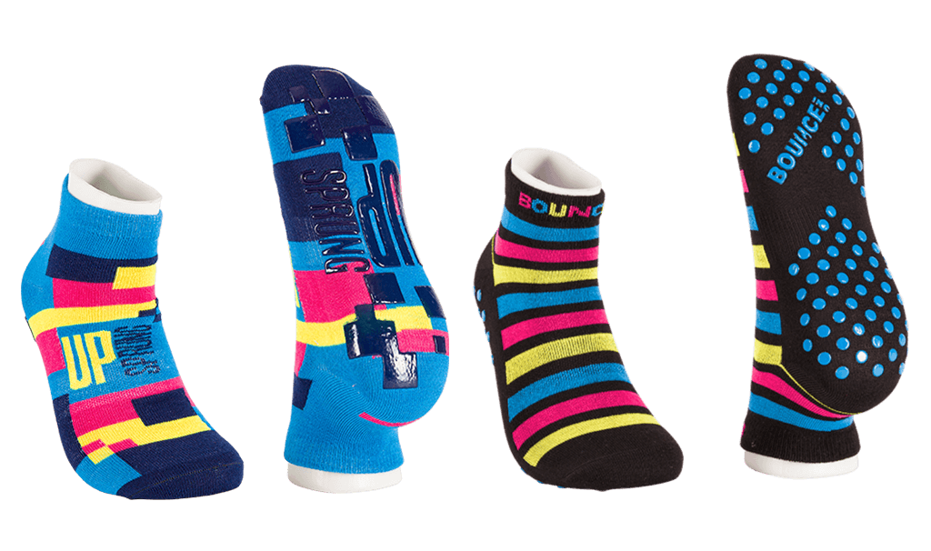 Bespoke trampoline park socks