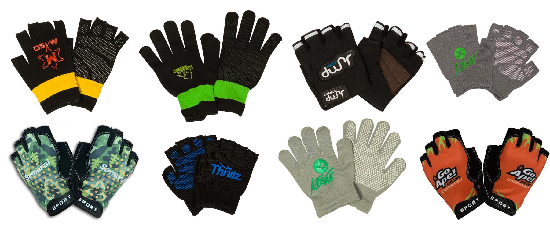 Ninja Park Grip Gloves for Parkour
