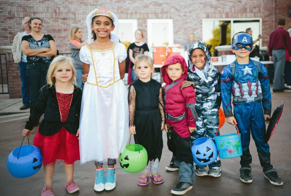 Trampoline Park Halloween Party
